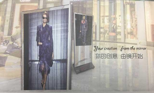The story of Youzhi smart makeup mirrorsmart dressing
